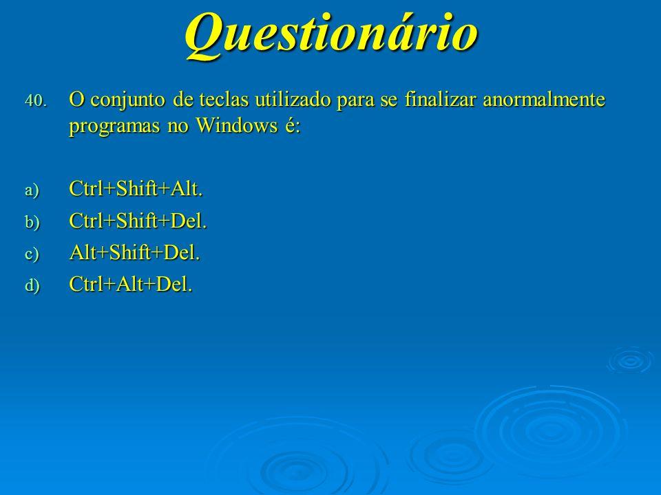 Questionário 41.