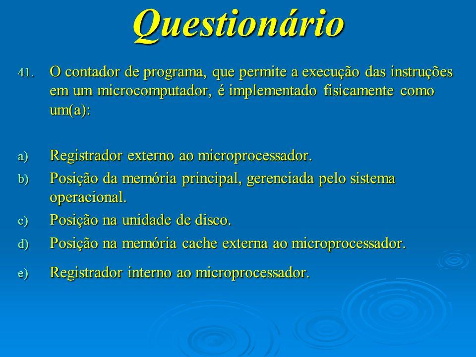 Questionário O criptograma é: a) Um conjunto de sinais ininteligíveis, obtidos a partir de um processo de cifragem.