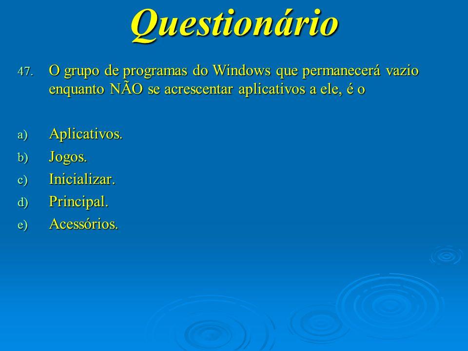 Questionário 48.
