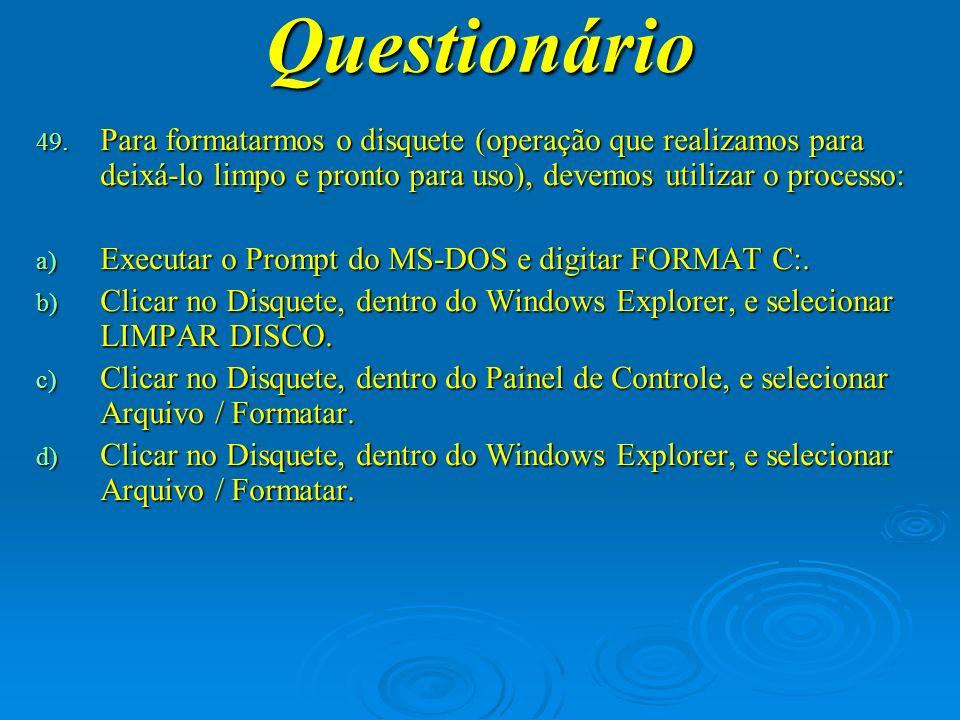 Questionário 50.