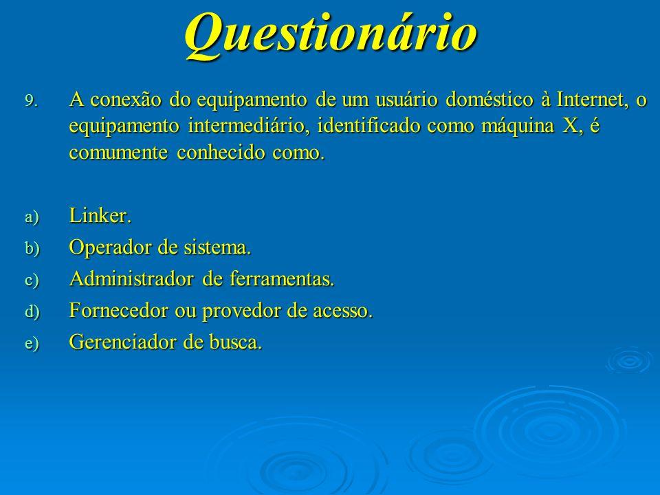 Questionário 10.