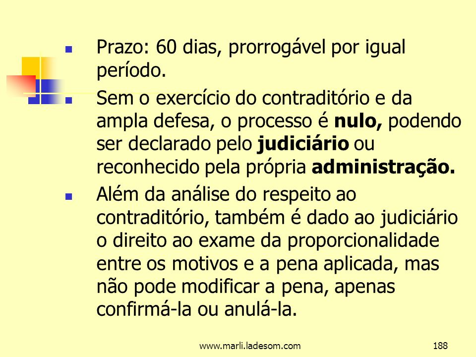 www.marli.ladesom.com188 Prazo: 60 dias, prorrogável por igual período.