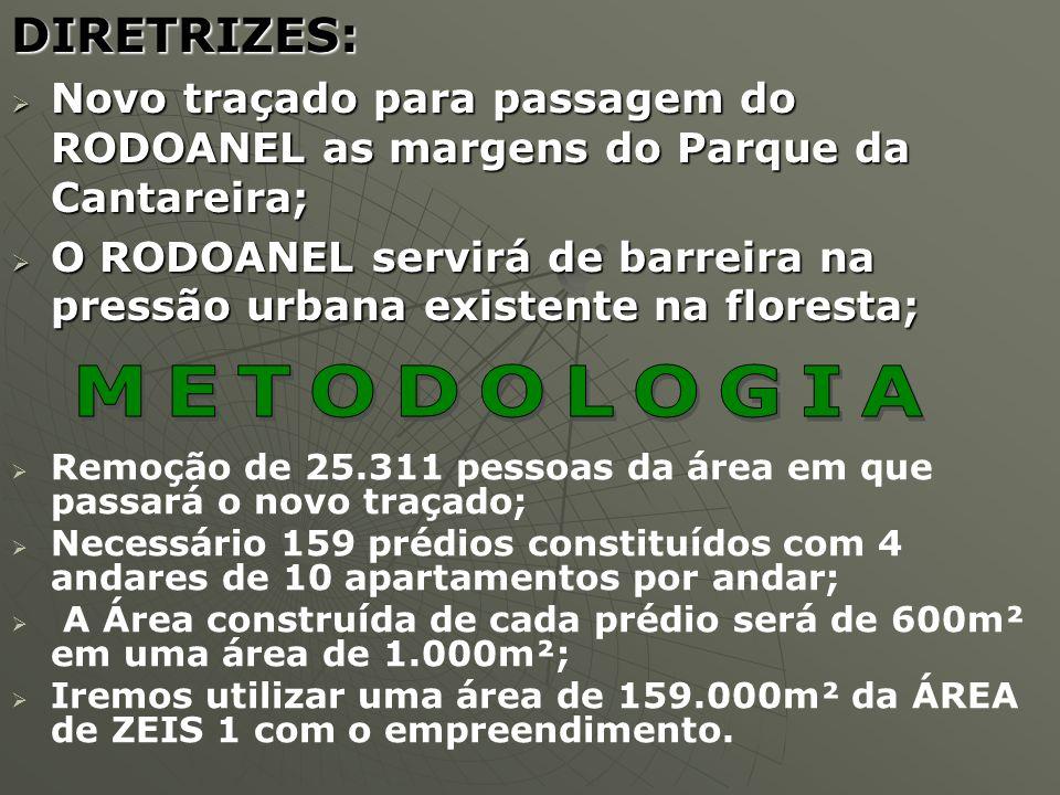 DIRETRIZES: Novo traçado para passagem do RODOANEL as margens do Parque da Cantareira; Novo traçado para passagem do RODOANEL as margens do Parque da