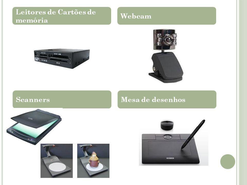 Leitores de Cartões de memória Webcam ScannersMesa de desenhos