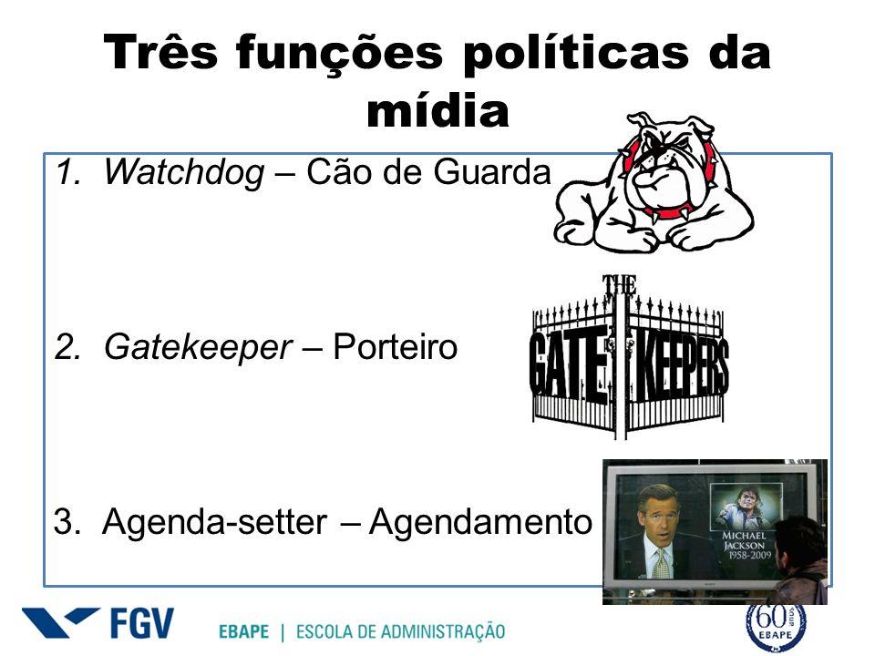 Watchdog – Cão de Guarda Revela para o público a história atrás da história Revelar corrupção, incompetência, ineficiência, opiniões ou atos escondidos.