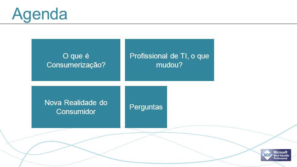 Agenda Nova Realidade do Consumidor Profissional de TI, o que mudou.