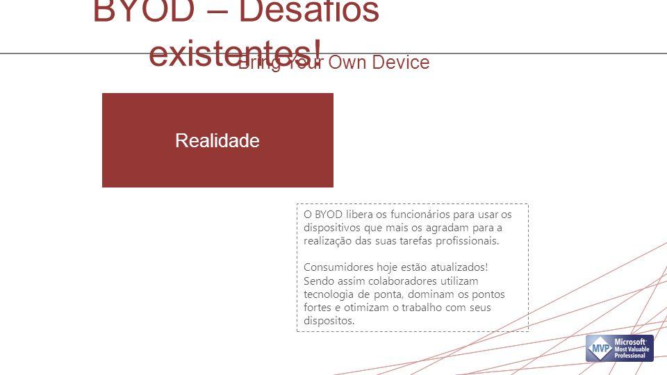 BYOD – Desafios existentes.