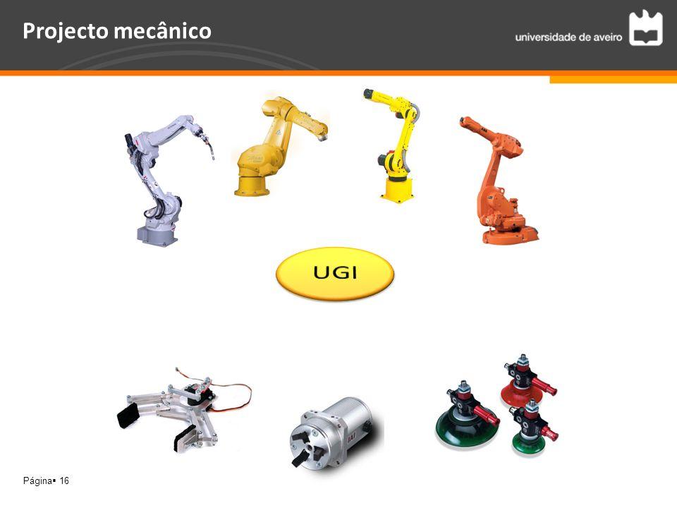 Página 16 Projecto mecânico