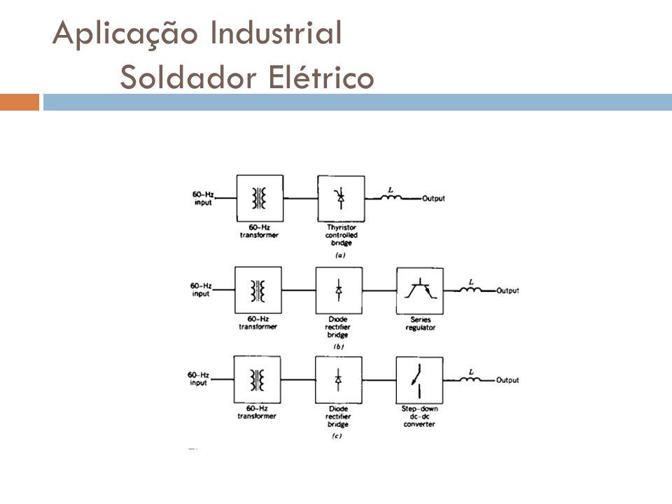 Aplicação Industrial Soldador Elétrico