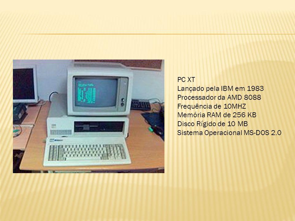 CPU 286 Lançado pela INTEL em 1982 Arquitetura 16 bits Frequência de 6 MHZ até 16 MHZ Acesso a memória RAM de 1MB a 16 MB Modo de operação: Real e Protegido CPU 386 Lançado pela INTEL em 1985 Arquitetura 32 bits Frequência de 16 MHZ até 20 MHZ Acesso a memória RAM 16 MB Memória cache na placa Mãe