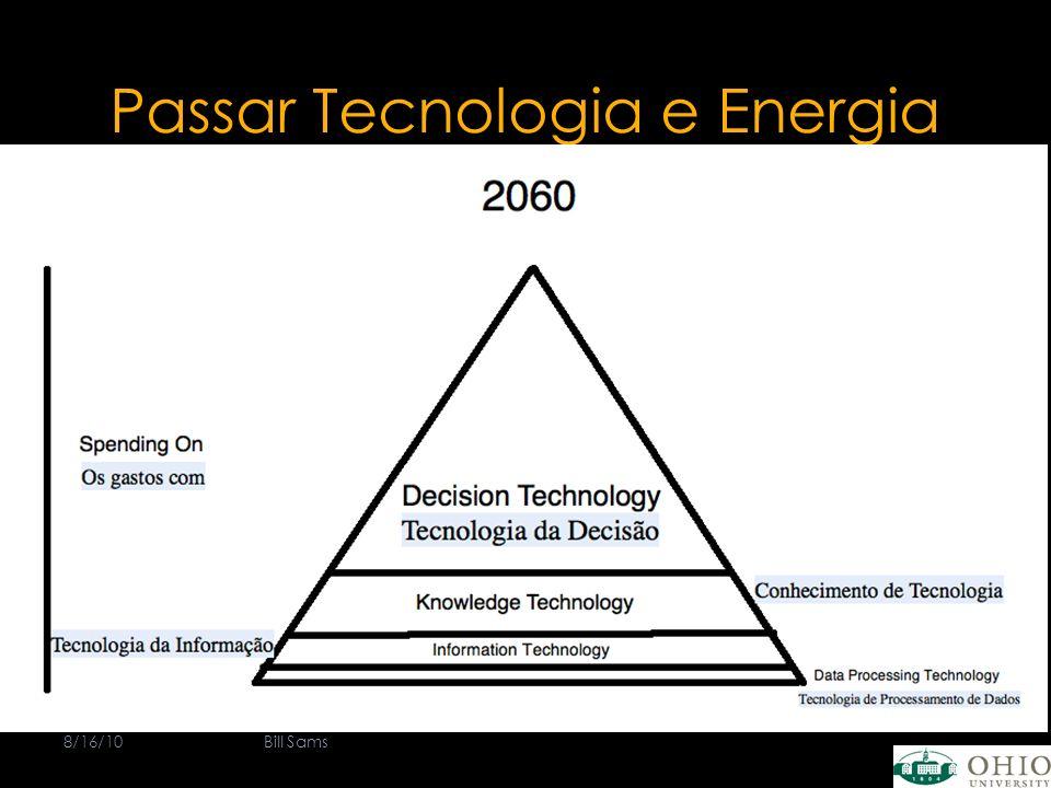 Passar Tecnologia e Energia 8/16/10Bill Sams