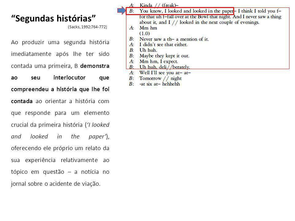 haa (.) havia aqui para Sintra (.) agora só para a Amadora (Atendimento E, linhas 109-132)