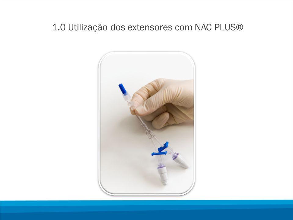 1.0 Utilização dos extensores com NAC PLUS®
