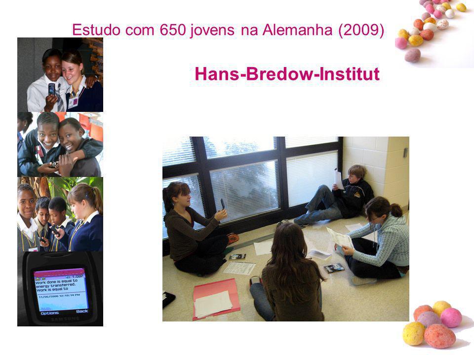 # Estudo com 650 jovens na Alemanha (2009) Hans-Bredow-Institut