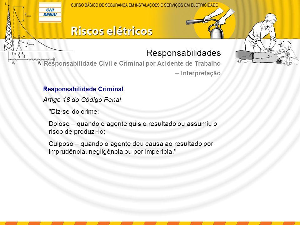 Responsabilidades Artigo 18 do Código Penal