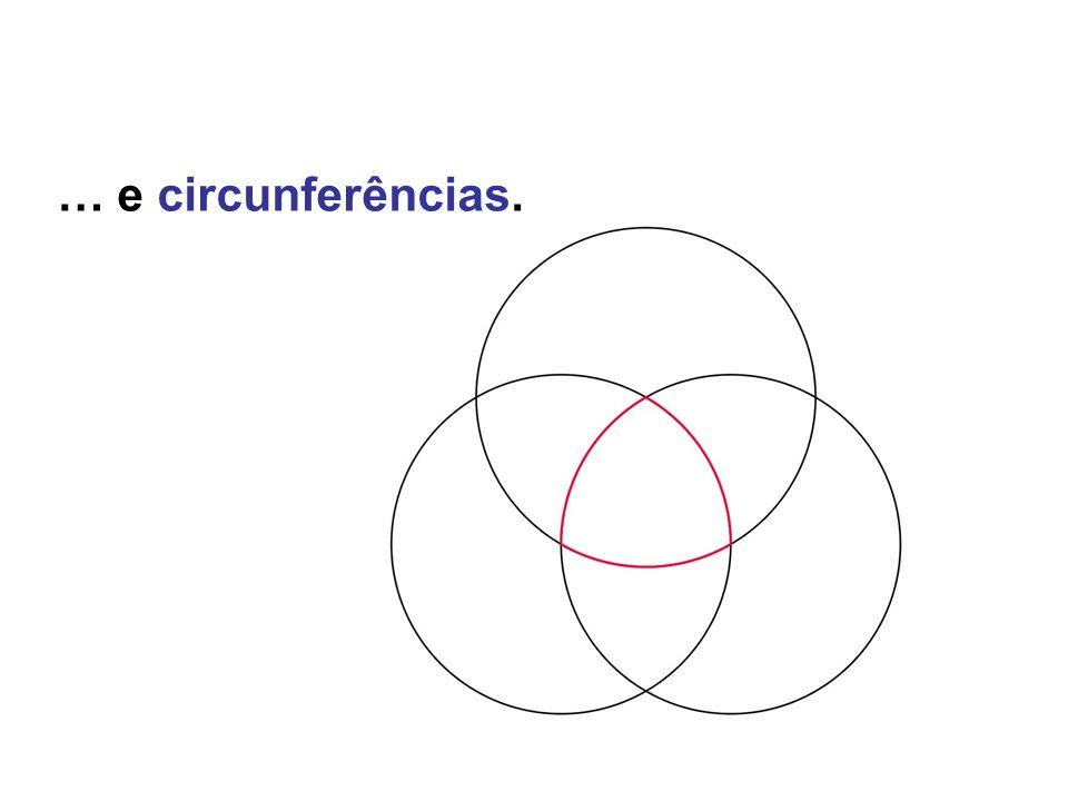 As soluções Vimos algumas propriedades: O mecanismo de Tchebycheff traça aproximadamente uma recta… O mecanismo de Peaucelier traça exactamente uma recta.