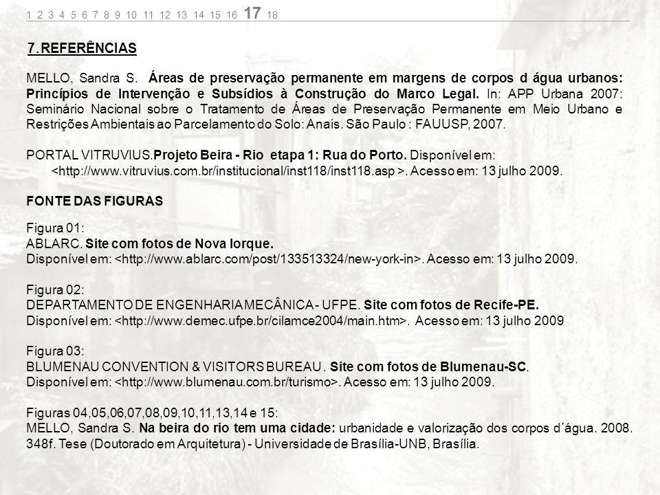 7.REFERÊNCIAS MELLO, Sandra S.