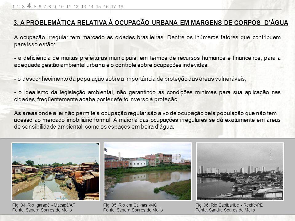 1.Portais: Demarcação visual dos acessos ao Calçadão da Rua do Porto 2.Atracadouro de barcos: Acessos à margem em pontos tradicionais de ancoragem de pequenas embarcações.