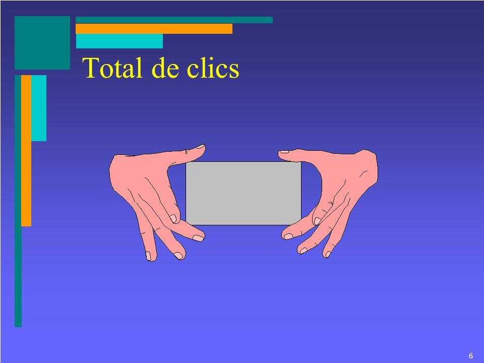 6 Total de clics