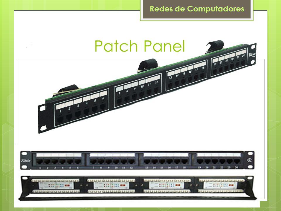 Redes de Computadores Patch Panel