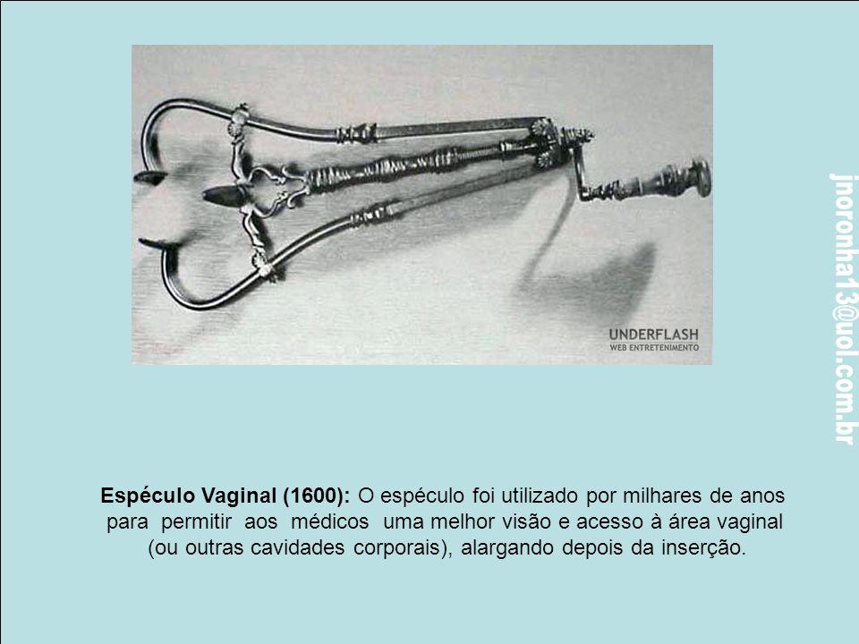 Trefina (1800): Este instrumento era uma broca cilíndrica com uma serrinha que era utilizada para furar o crânio. A broca no centro era utilizado para