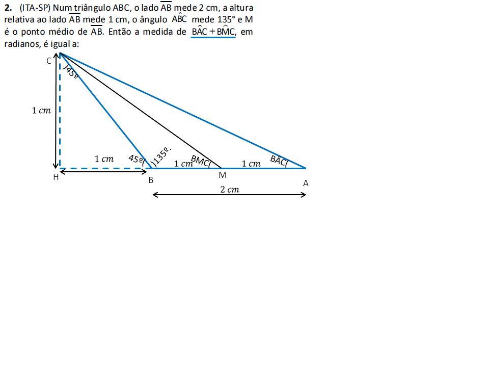 B A C H )135º. M 45º( )45º BÂC( BMC(
