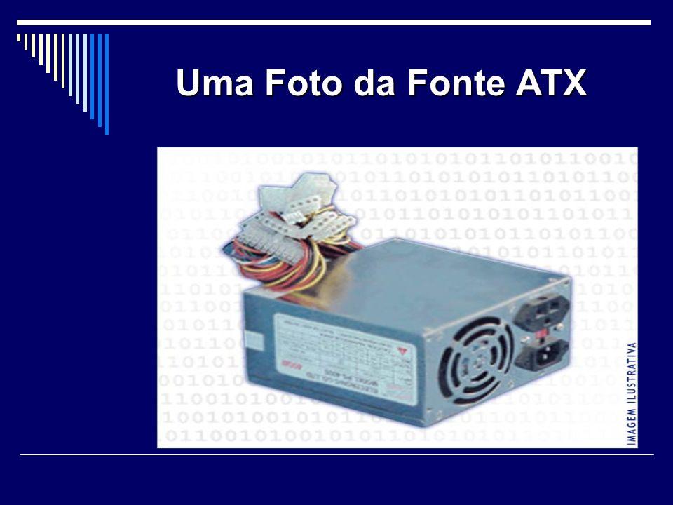 Uma Foto da Fonte ATX