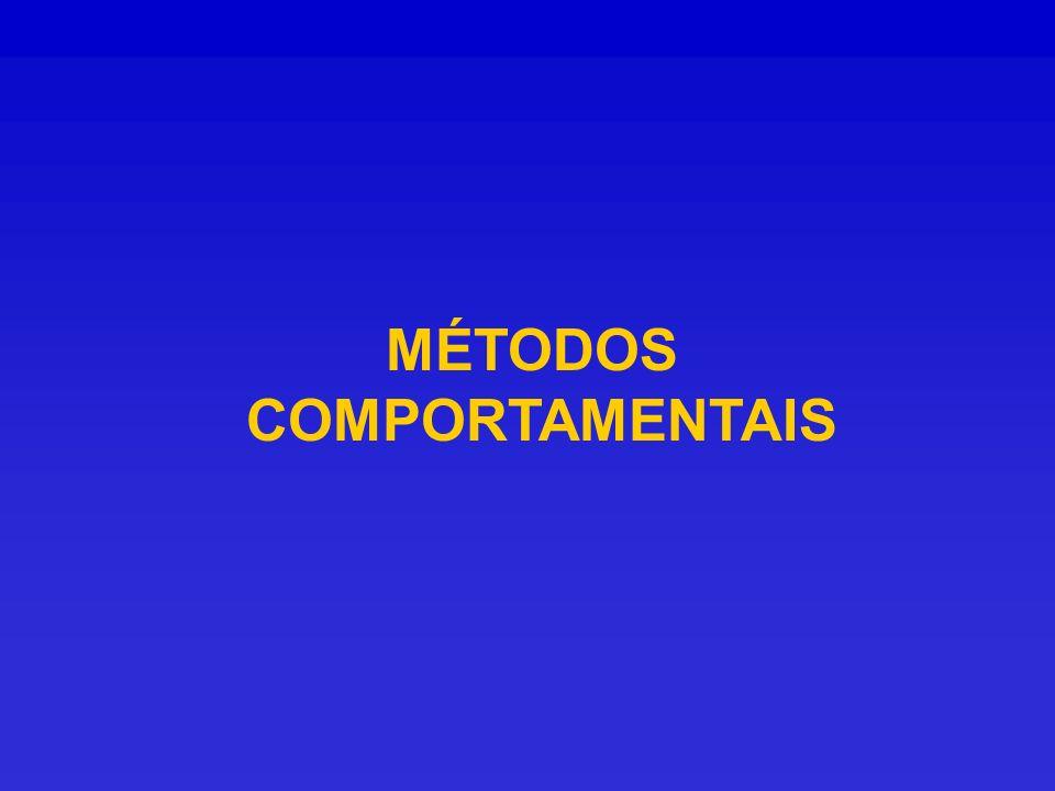 MÉTODOS COMPORTAMENTAIS