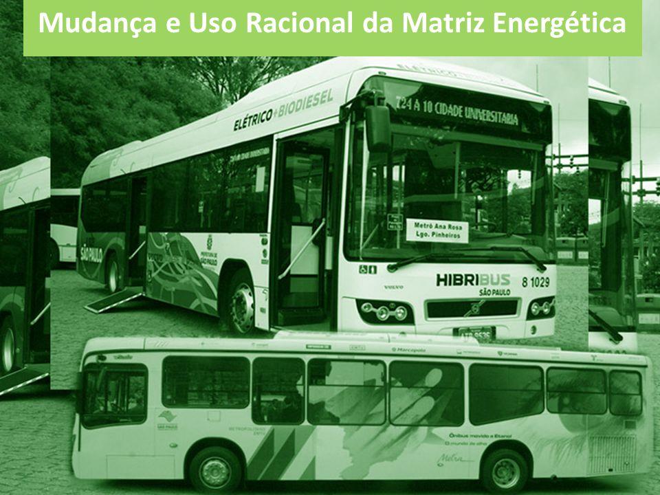 Mudança e Uso Racional da Matriz Energética
