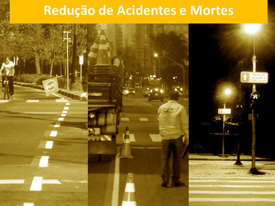 Redução de Acidentes e Mortes