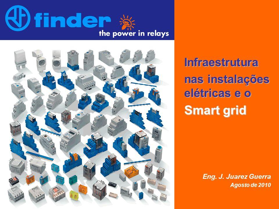 Infraestrutura nas instalações elétricas e o Smart grid Eng. J. Juarez Guerra Agosto de 2010
