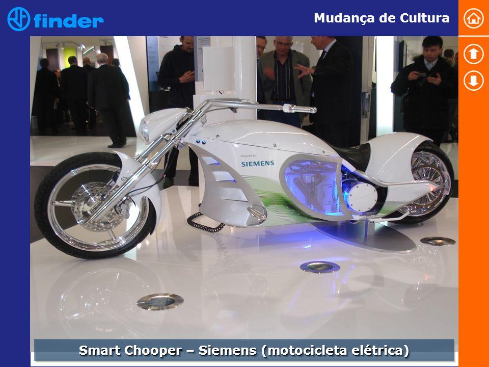 Smart Chooper – Siemens (motocicleta elétrica) Mudança de Cultura