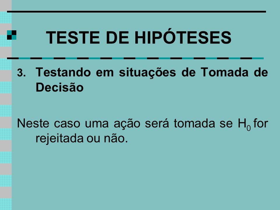 TESTE DE HIPÓTESES 3.