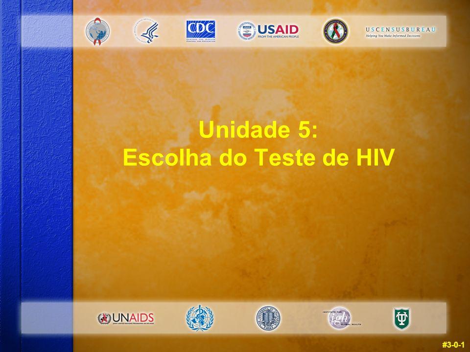 #3-0-1 Unidade 5: Escolha do Teste de HIV