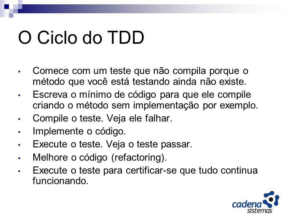 Dicas TDD está se tornando uma habilidade cada vez mais requisitada (EUA) TDD parece difícil, estranho, e pouco intuitivo no começo.