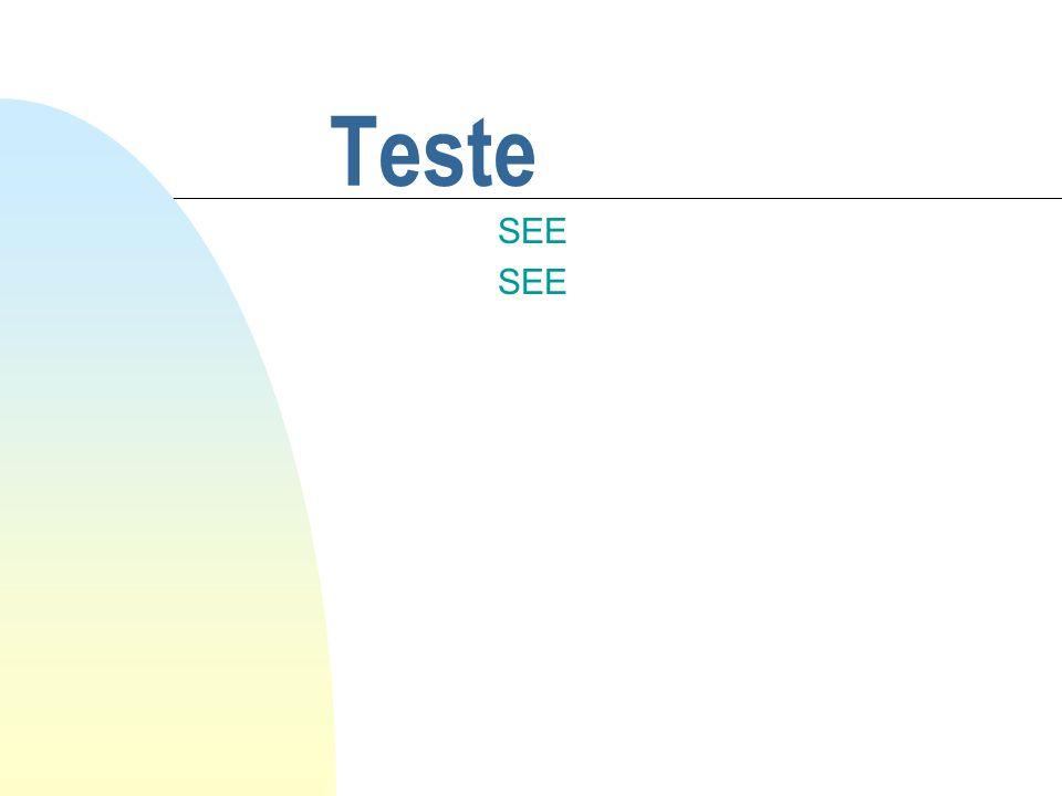 Teste SEE