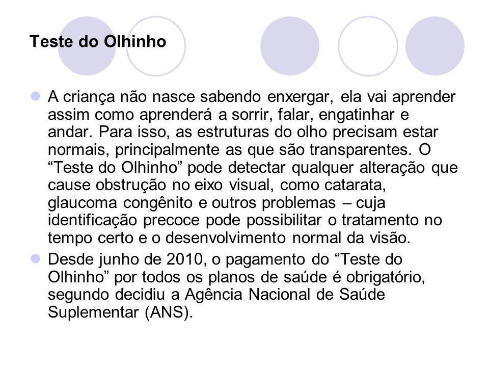 Teste do Olhinho