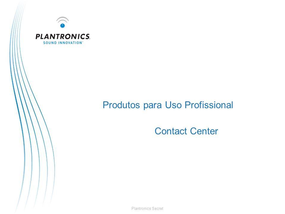 Plantronics Secret Produtos para Uso Profissional Contact Center