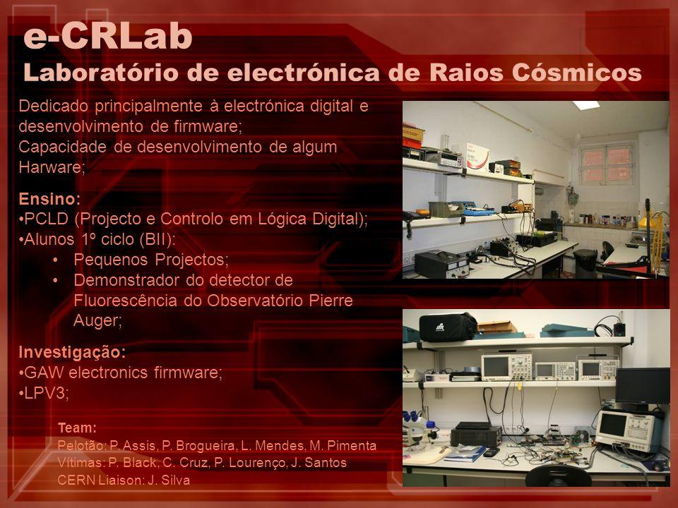 LPV3 – Firmware desenvolvido e testes do protótipo Teste eléctrico: Teste de programação: Teste de aquisição: Não fez fumo… Fez-se luz… Viu-se qq coisa…