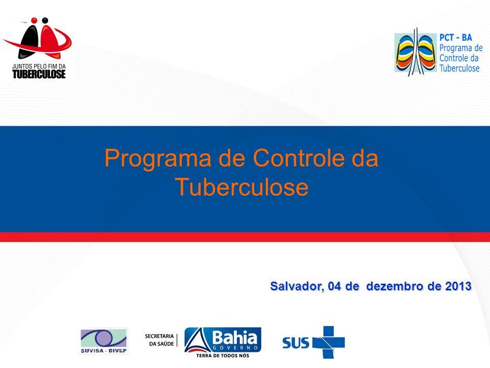 Salvador, 04 de dezembro de 2013 Programa de Controle da Tuberculose
