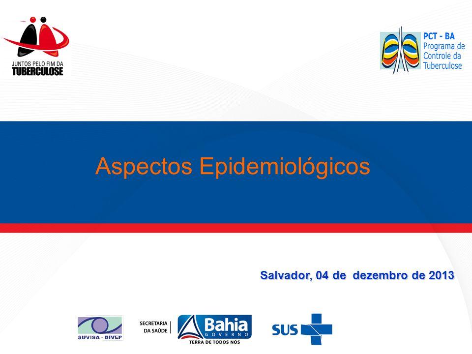 Salvador, 04 de dezembro de 2013 Aspectos Epidemiológicos
