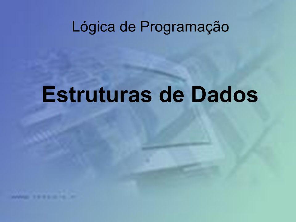Lógica de Programação Estruturas de Dados