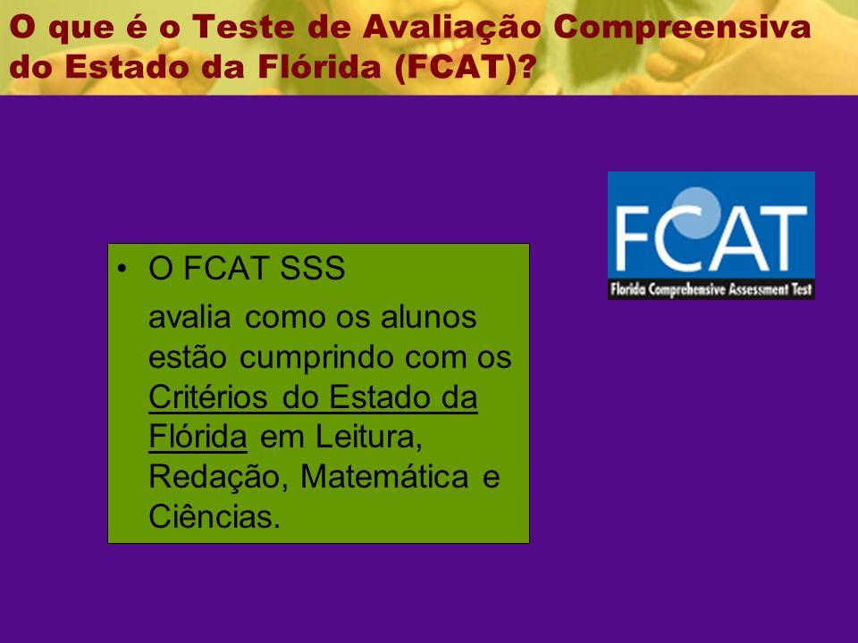 O que é o Teste de Avaliação Compreensiva do Estado da Flórida (FCAT).