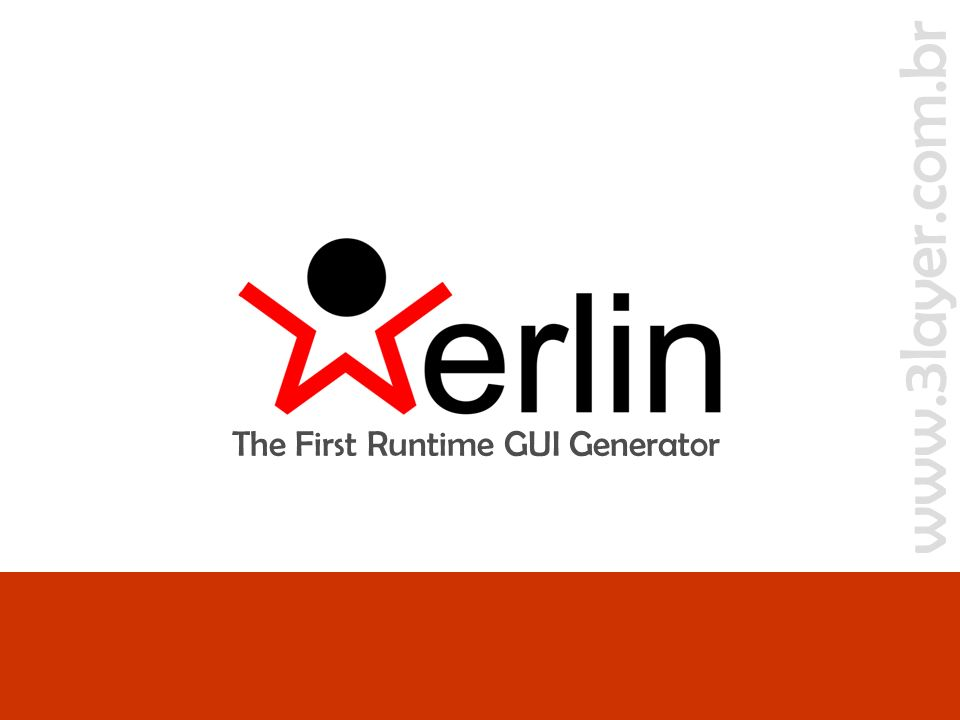 www.3layer.com.br Merlin - The First Runtime GUI Generatorslide 12 de 44 O objetivo da ferramenta Gerar TCs elementares com o menor esforço possível Um exemplo de interface elementar a ser gerada >> algumas definições O código essencial new JFrame().add( Merlin.createUI(Cliente.class) ).setVisible(true);