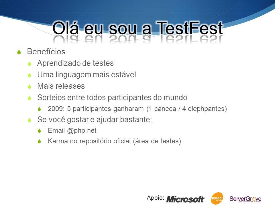 Apoio: --TEST-- Verificando se estamos no Linux...