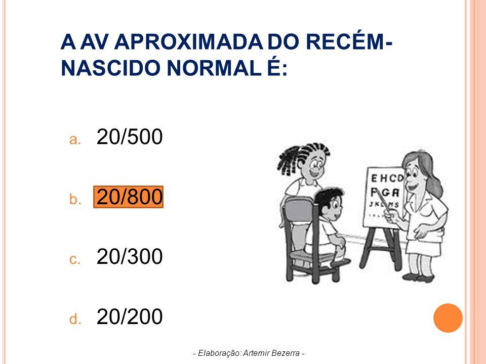 P RONUNCIADA REDUÇÃO DA ACUIDADE VISUAL SEM DOENÇA DO OLHO.