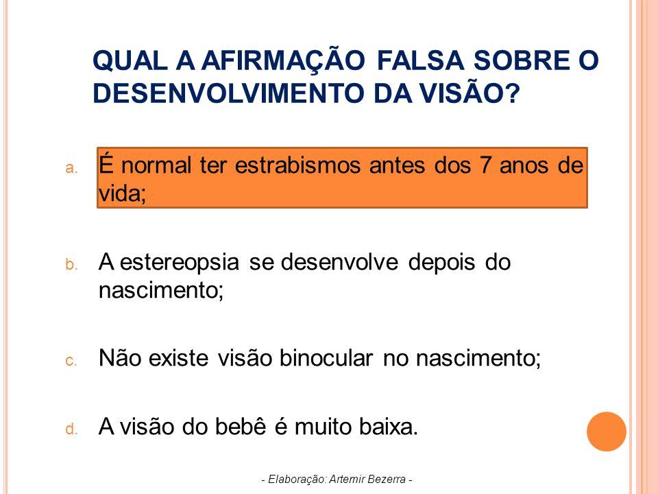 TESTE UTILIZADO PARA DETECTAR PRESENÇA DE DISCROMATOPSIAS: a.
