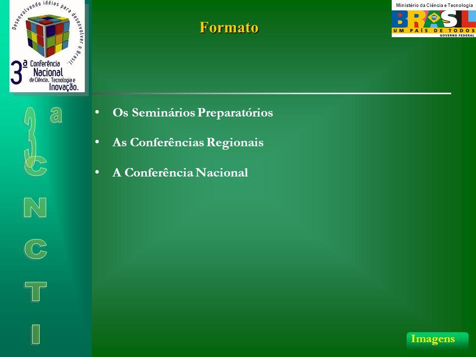 Formato As Conferências Regionais Os Seminários Preparatórios A Conferência Nacional Imagens Ministério da Ciência e Tecnologia