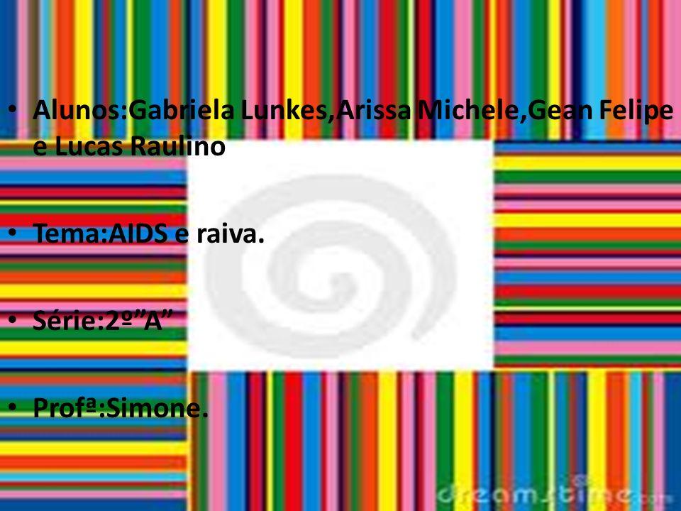 Alunos:Gabriela Lunkes,Arissa Michele,Gean Felipe e Lucas Raulino.
