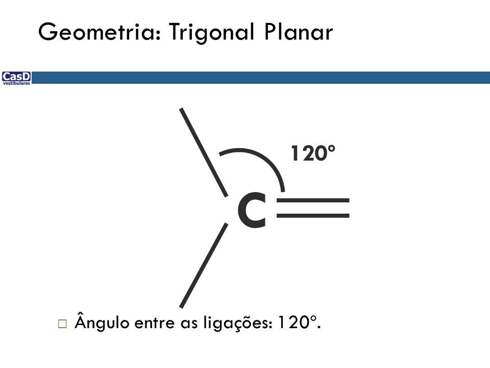 C = C Cl Cl HH Cl Cl H H Cis 1,2-dicloro-etenoTrans 1,2-dicloro-eteno Nomes oficiais considerando a disposição espacial dos substituintes Isomeria: CIS-TRANS